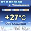 Ну и погода в Ульяновске - Поминутный прогноз погоды